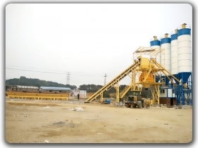 150m3/h ready mix concrete batching plant