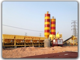 Stablized Soil Mixing Plant