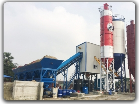 120m3/h Stationary Concrete batching Plant